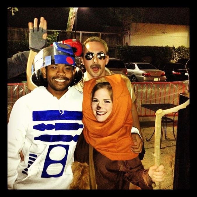 diy ewok r2d2 costumes