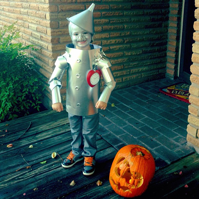 diy tin man costume