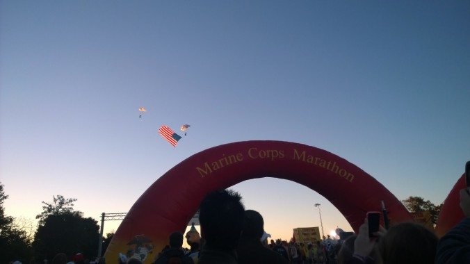 marine corps marathon start washington dc