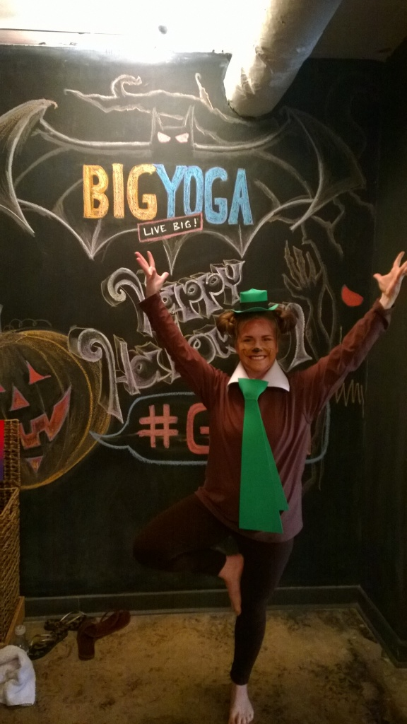 last minute yogi bear yoga costume