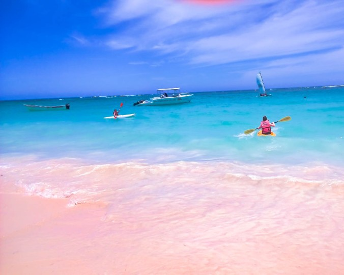 Sea Kayaking in the Dominican Republic