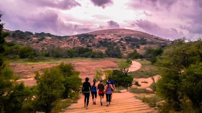 Enchanted Rock outside of Fredericksburg- Girls' trip