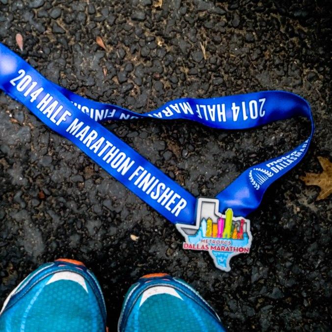 dallas marathon 2014 medal (3 of 1)