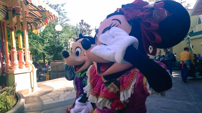 Mickey and Minnie Disneyland California