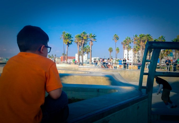 venice beach cali kid