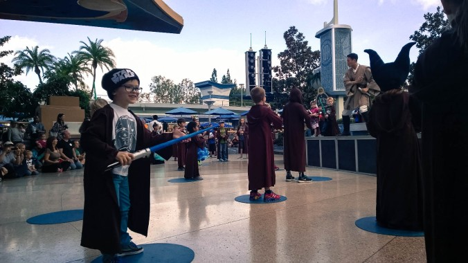 jedi training disneyland padawan