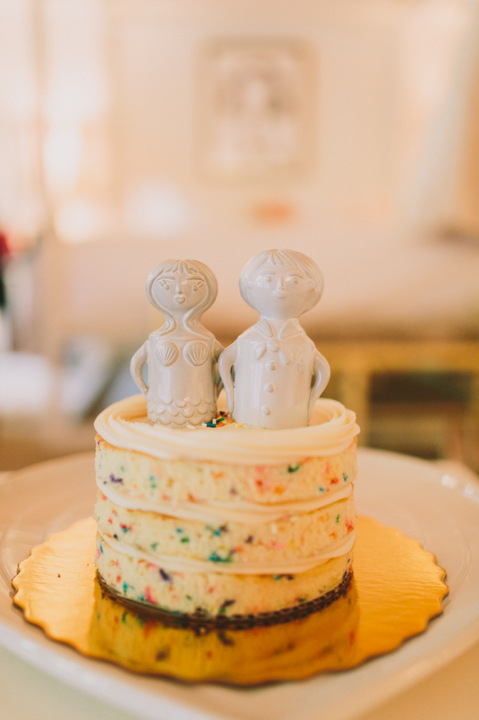 wedding cake elopement jonathan adler