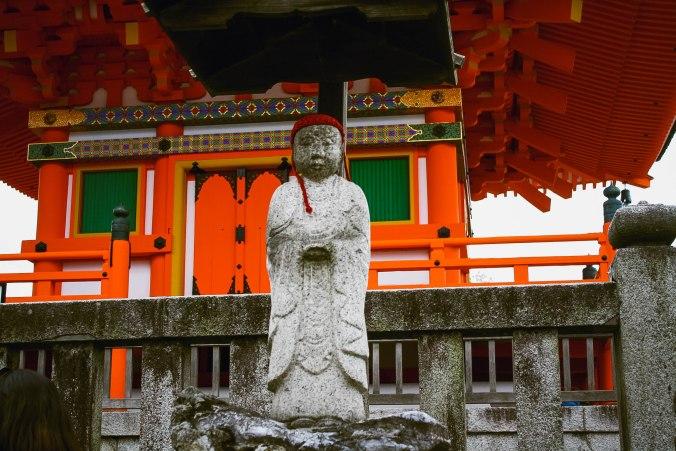 Kiyomizu-dera temple in Kyoto