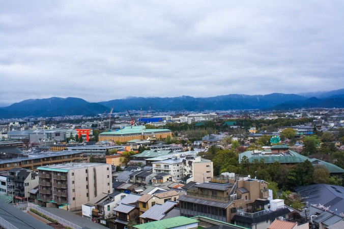 Westin Kyoto view