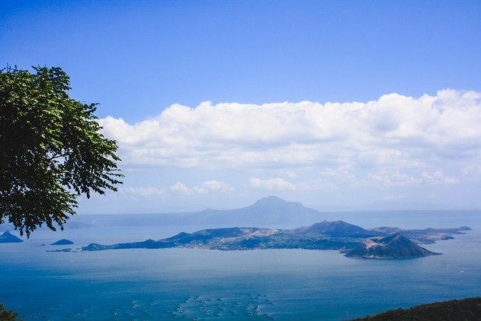 Luzon Volcano view