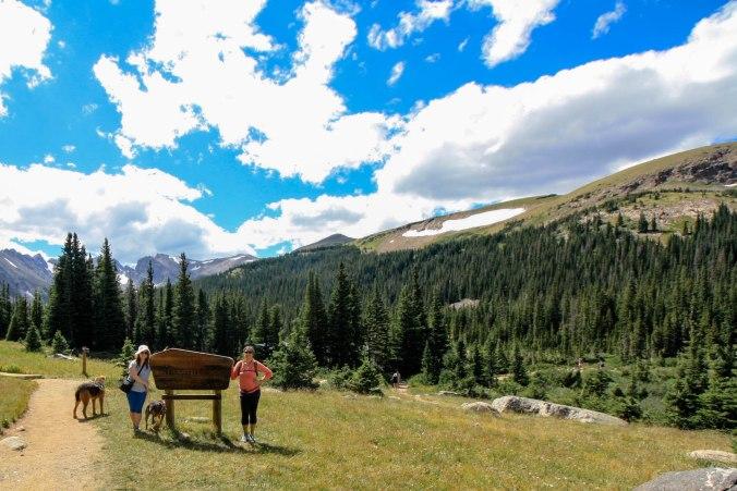 Indian Peaks Wilderness Trail in Boulder Colorado