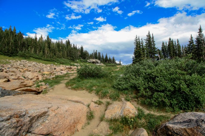 Indian Peaks Wilderness Trail in Boulder Colorado