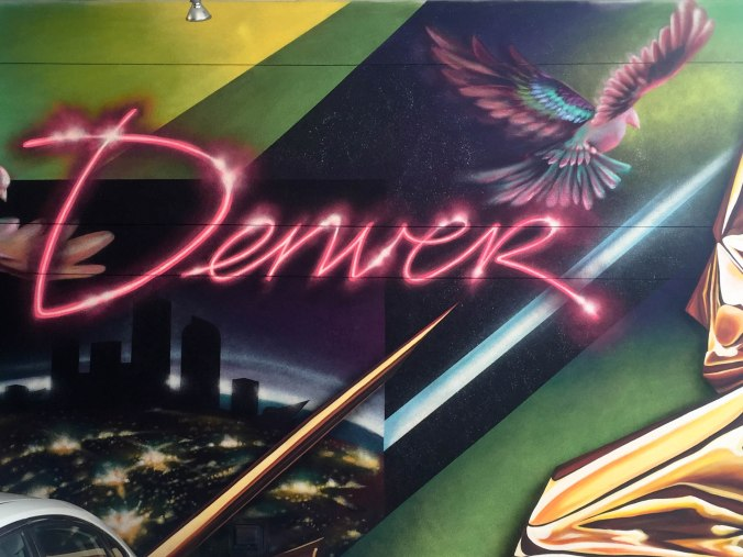 Denver mural- ALOFT Downtown Denver Hotel