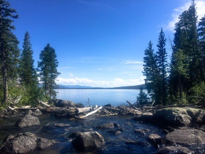 Hiking Jenny Lake in Grand Teton NP-2