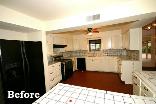 Kitchen Before - home before and after