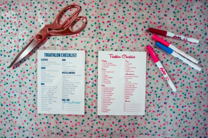 Printable Triathlon Race Gear Checklists-6