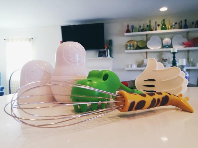 kitschy kitchen tools