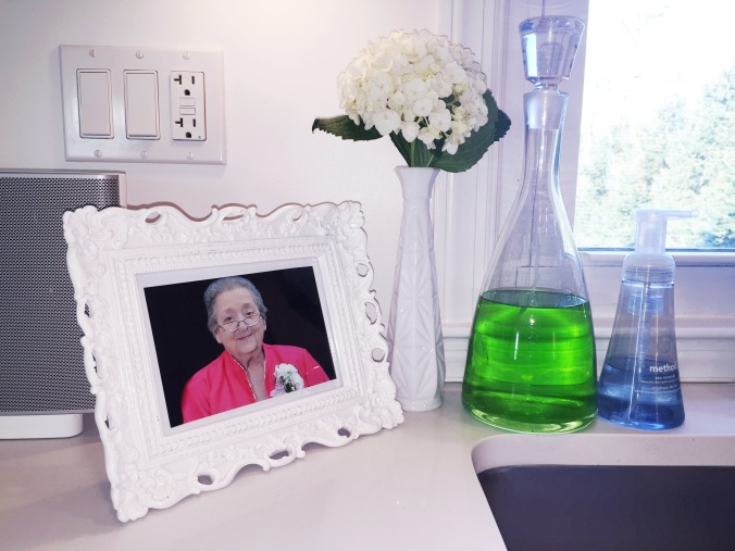 My kitchen is dedicated to my Granny