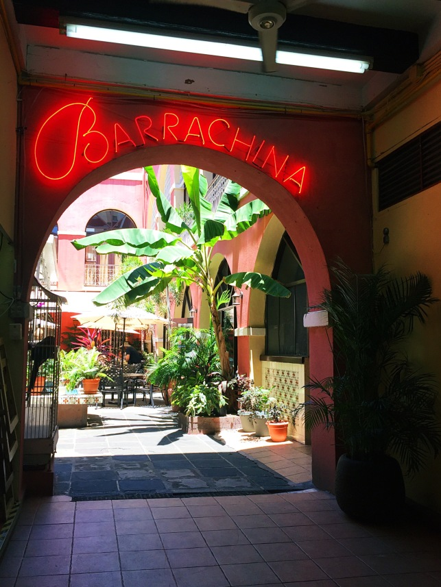 Barrachina Restaurant Old San Juan Puerto Rico