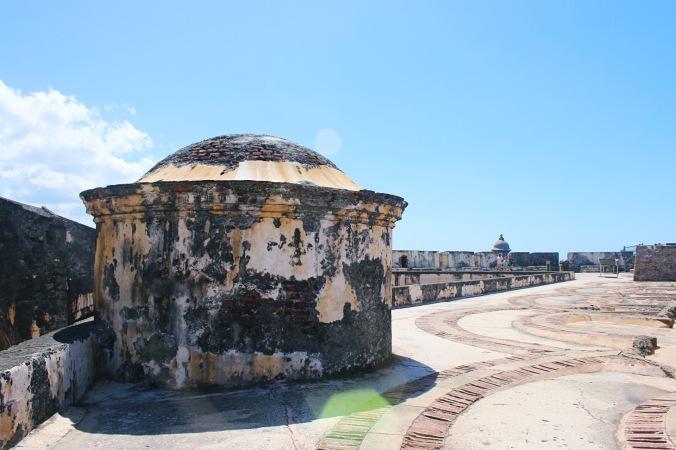 Castille San Felipe del Morro in Old San Juan, Puerto Rico