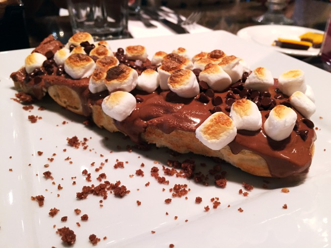 Chocolate Pizza from Casa Cortez's Chocobar in San Juan, Puerto Rico