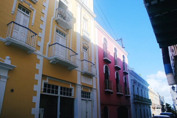 Exploring the colorful streets of Viejo San Juan, Puerto Rico