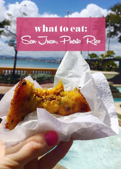Foods you must eat in Old San Juan, Puerto Rico