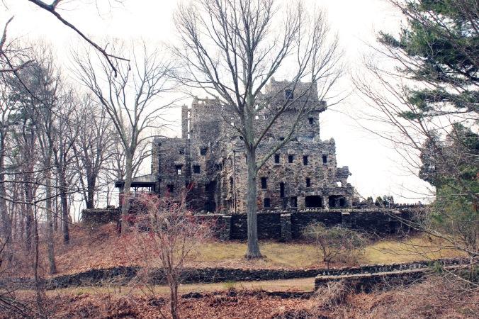 Full Castle shot at Gillette Castle State Park East Haddam Connecticut