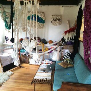 Meghan Shimek Weave with Roving Studio
