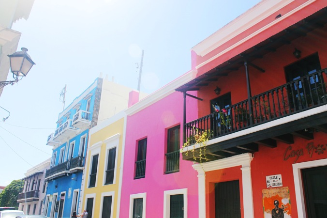 Old San Juan, one of the most colorful places in the world