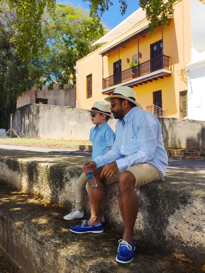Resting in Old San Juan Puerto Rico 1