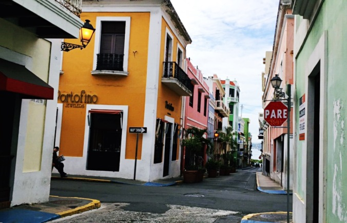 TinyKelsie Exploring the colorful streets of Old San Juan, Puerto Rico