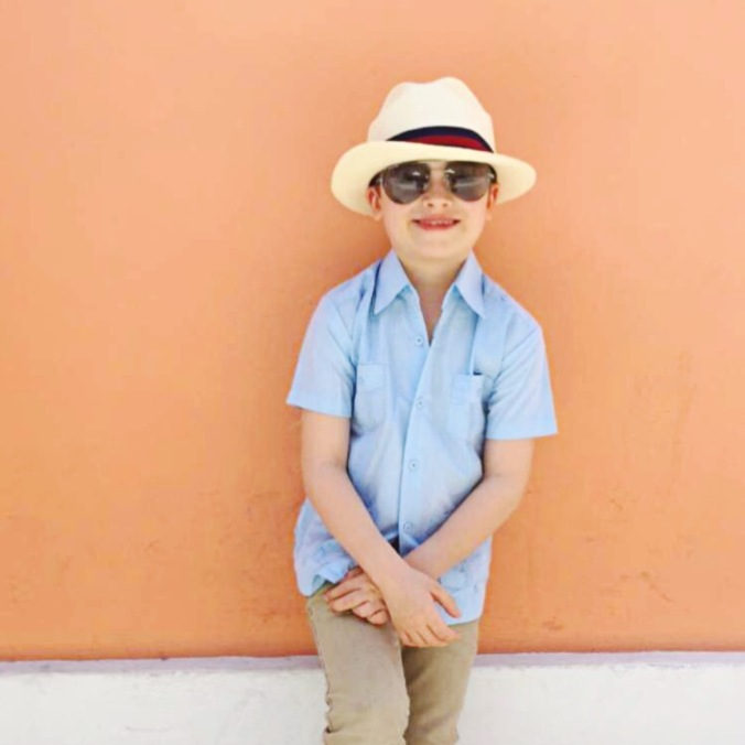 Traveling with children in Old San Juan, Puerto Rico