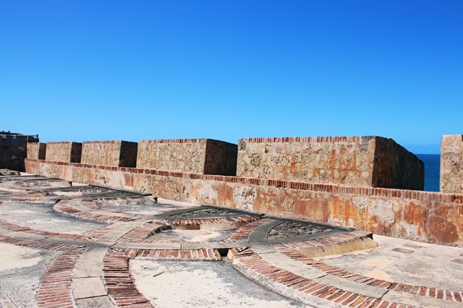 Walls of Castillo San Felipe del Morro