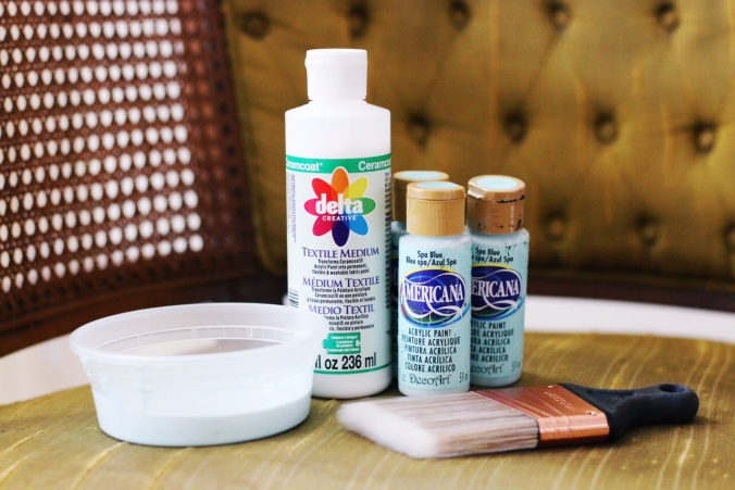 supplies for painting chair upholstery