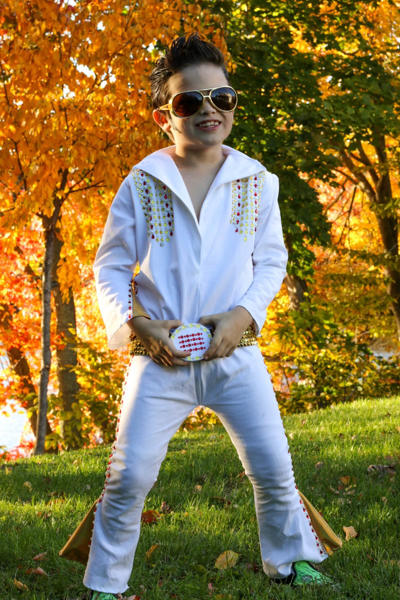 How to make a diy boys elvis jumpsuit halloween costume tiny kelsie solutioingenieria Image collections