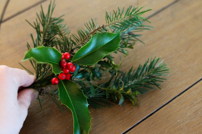 diy-natural-christmas-wreath-with-wire-hangers-or-a-hula-hoop-12