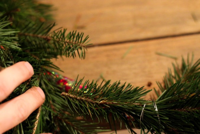 diy-natural-christmas-wreath-with-wire-hangers-or-a-hula-hoop-15