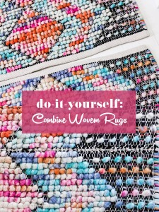 how-to-combine-two-woven-rugs-to-become-one-diy