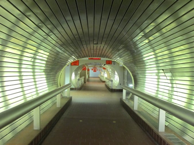 underground hallways through new haven union station