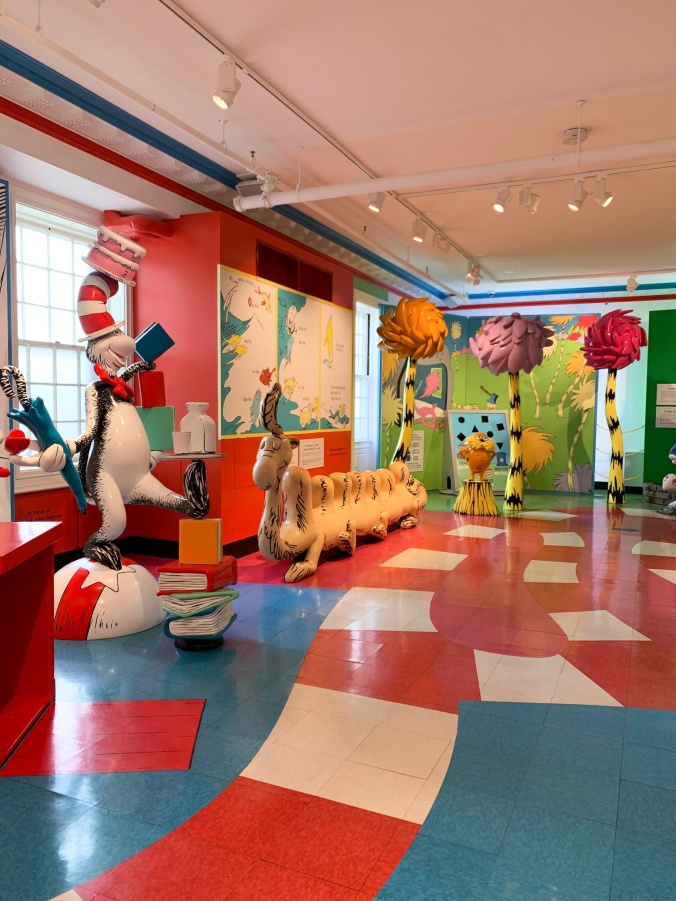 Amazing World Dr Seuss Springfield Museums covid -12