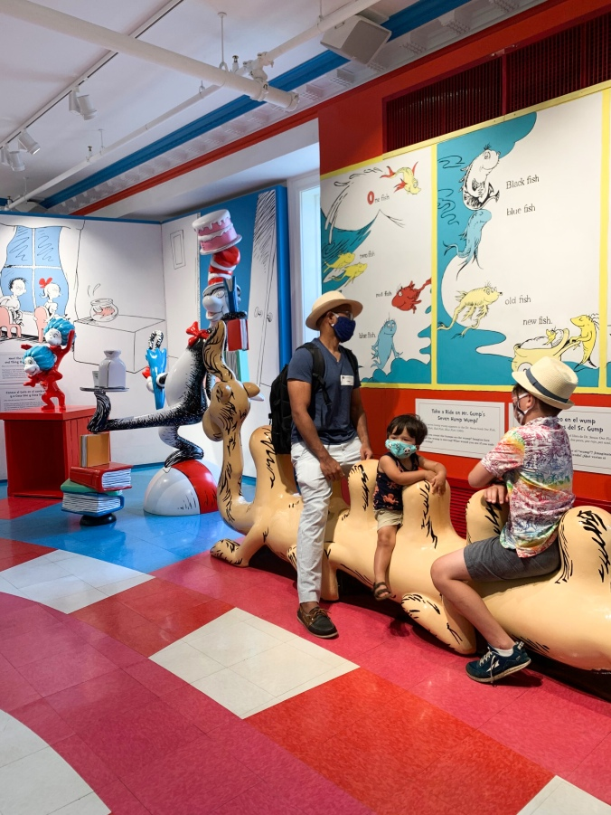 Amazing World Dr Seuss Springfield Museums covid -14