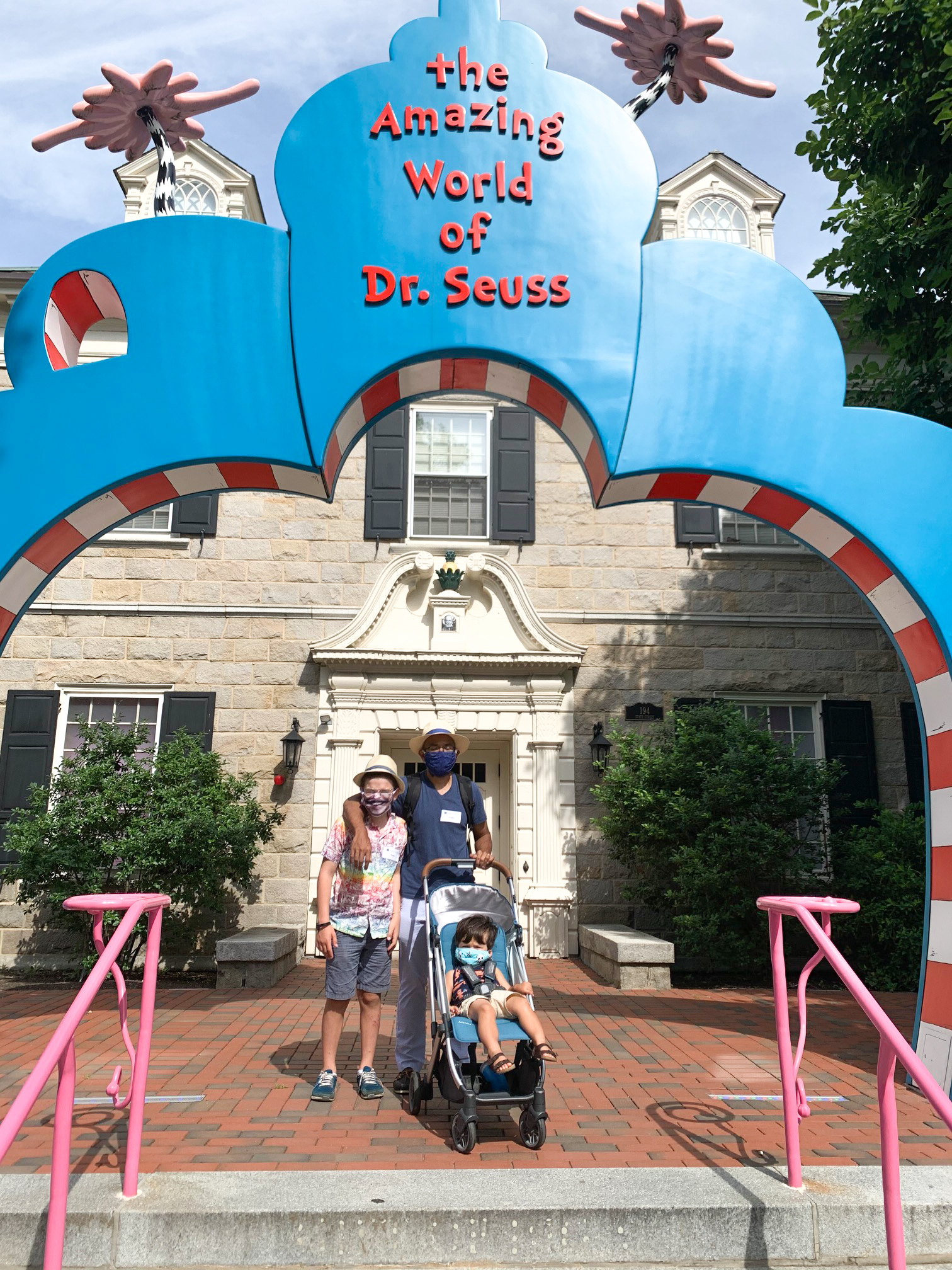 Amazing World Dr Seuss Springfield Museums covid -27